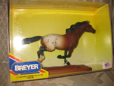 """Breyer Collectible Horse """"Riddle Passing Through Time"""" #703595 Phase One"""