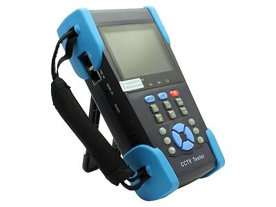 "3.5"" CCTV Tester Monitor HVT-2601 10 X zoom Camera IP Search PTZ DVR 12 V Output"