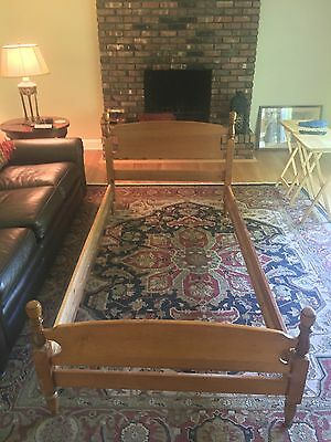 Two Maple Twin Size Beds