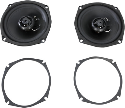Hogtunes Gen3 5.25 Replacemnt Front Speakers 1998-2005 Harley Electra Glide 356F