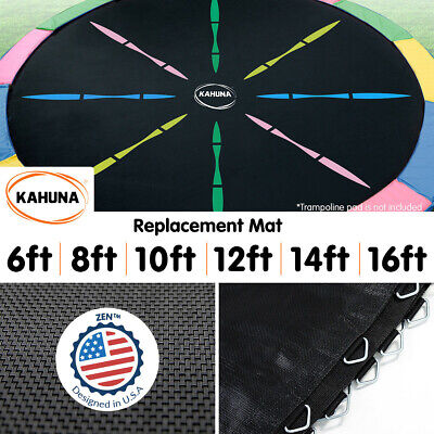 New Trampoline Replacement Spring Rainbow Mat Round 6ft 8ft 10ft 12ft 14ft 16ft