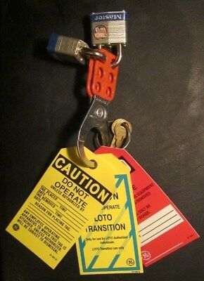 Basic Lockout Tagout Equipment forTraining or Use