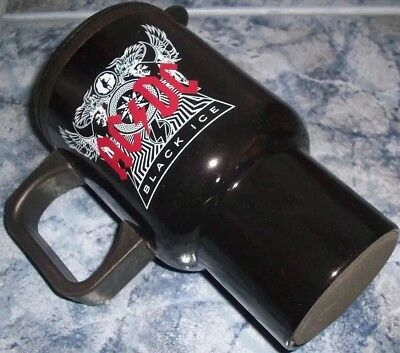 ACDC AC/DC BLACK ICE COFFEE CUP CAR HOLIDAYS THERMAL TRAVEL MUG AcDc