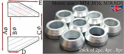 Steel Metric Cone Spacer Heims Heim Joint Rod End Ends Joints