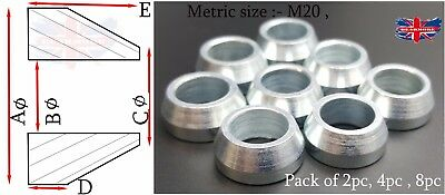 20Mm Cone Spacer Heims Heim Joint Rod End Ends Joints M20 Cone Washer