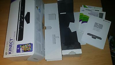 Microsoft Xbox 360 Kinect nur OVP Box Verpackung only mit Inlay Anleitung Manual
