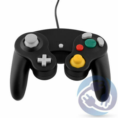 Black Game Controller for Nintendo GameCube NGC Wii