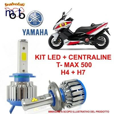 Kit Led Con Centraline Specifico Per Yamaha Tmax T-Max 500 Anno 2003