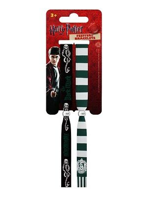 Harry Potter Slytherin Black Festival Wristbands