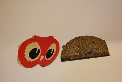Vintage Needle Books from West Germany – Lot of 2 – Red Owl, Magnolia
