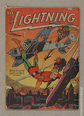 Lightning Comics Vol. 2 (1941) #3 PR 0.5