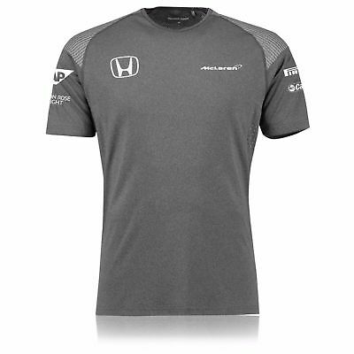 Genuine McLaren Honda Team Men's T-Shirt 2017, Grey