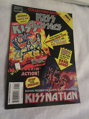Kiss Classics #1 Marvel Music Magazine 1995 Great Condition
