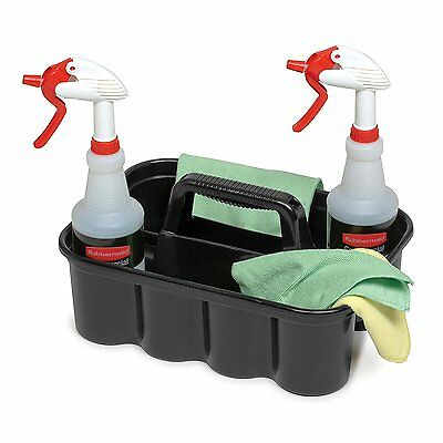 Cleaning Caddy Plastic Storage House Cleaner Supplies Organizer Tote Hand Carry