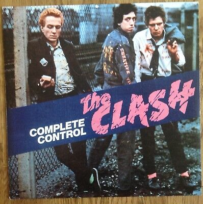 The Clash This Is England Rare Poster Sleeve 1985 163 0 01