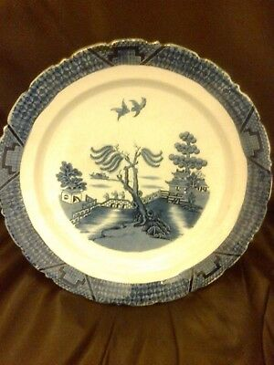 Booths Real Old Willow Large Serving Bowl Dish Table Centre Piece