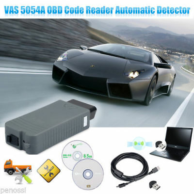 VAS 5054A+OKI Full Chip Bluetooth ODIS OBD2 VAG Diagnostic Tool for Bentley Audi