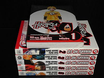 HIKARU NO GO  Vol.1-6 Books Graphic Novel Manga Comic Lot