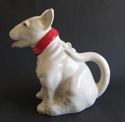 Bull Terrier Collectable Dog Teapot  Ceramic