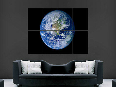 Earth From Space    Art Wall Large Image Giant Poster !!!