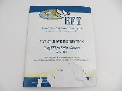 EFT Emotional Freedom Techniques 8 DVD set Serious Diseases Series Two loc335