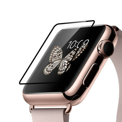 Tempered Glass Protector Clear Protective Film Guard For Apple Watch iWatch 38MM