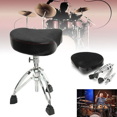 Triangle Drum Throne Chrome Heavy Duty Double Braced Adjustable Seat Chair AU