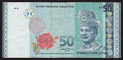Malaysia 50 Ringgit 2009 Banknote P-50a