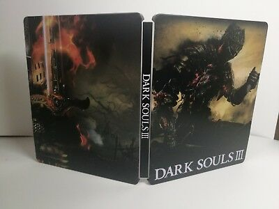 Video Game Dark Souls 3 custom Iron disc box case steelbook for PS4 Xbox disk