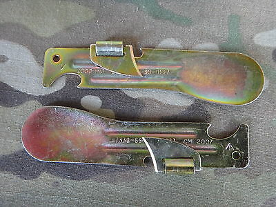 2 X Australian Army Ration Tin Can Opener Fred Military SurplusKnife Dpdu Dpcu