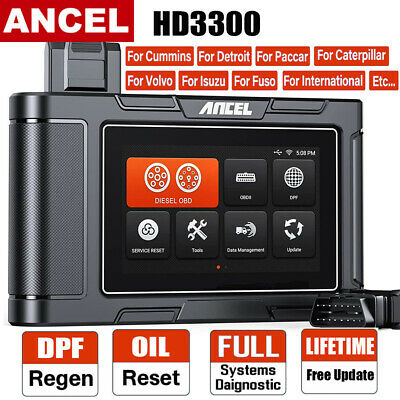 Car OBD2 Scanner All System ABS CBS EPB Airbag DPF SAS Oil Reset Diagnostic Tool