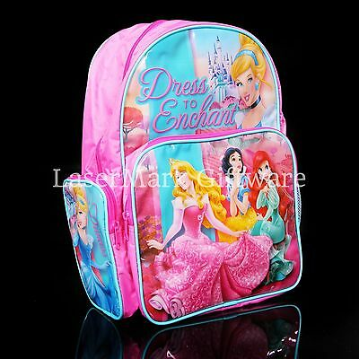 Brand new kids toddlers Disney Princess backpack school bag Free Shipping