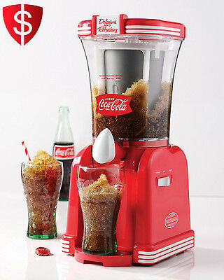 Frozen Drink Maker Machine Slush Ice Blender Beverage Mixer Slurpee Making