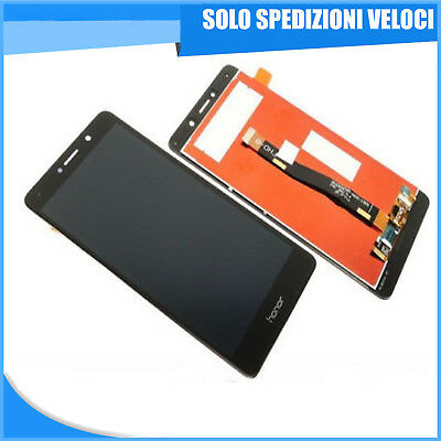Touch Screen Vetro + Schermo Lcd Display Huawei Honor 6X Nero Black Digitizer