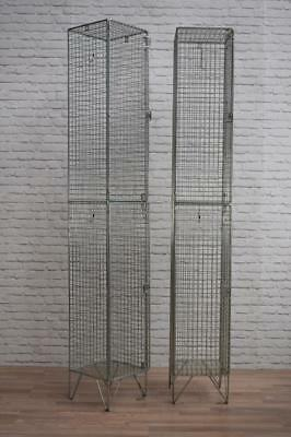 Vintage Industrial Style Metal Wire Lockers Storage 8 AVAILABLE (inc VAT)