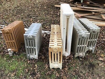Antique Vintage American ornate Radiator Steam Radiators cast iron local pu