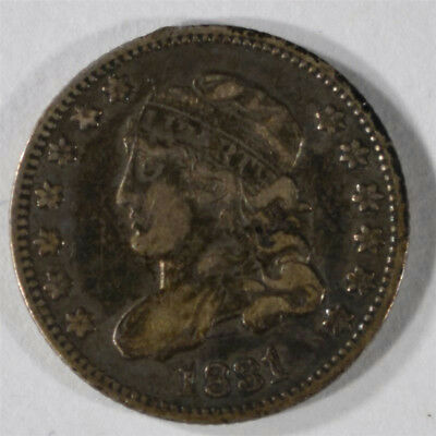 1831 Bust Half Dime, About Xf