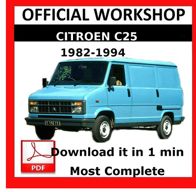 Stupendous Official Workshop Manual Service Repair Citroen C25 1982 1994 Wiring 101 Capemaxxcnl