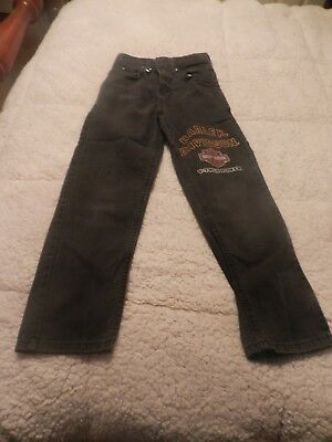 Wow!!! Rare Boys Or Girls Harley Davidson Jeans. Size 10