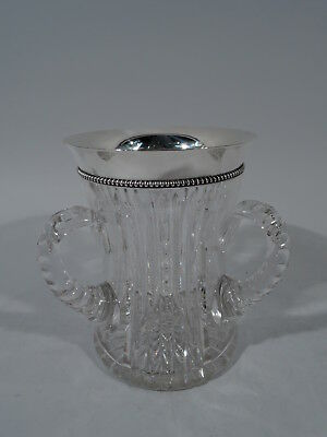 International / Wilcox Loving Cup - American Brilliant-Cut Glass Sterling Silver