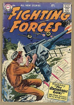 Our Fighting Forces (1954) #17 FR/GD 1.5 LOW GRADE