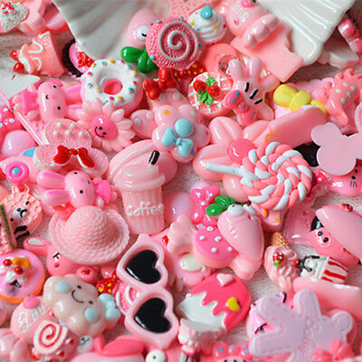 10Pack Pink Blessing bag Squishy Charms Squeeze Slow Rising Toy Collection