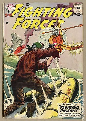 Our Fighting Forces (1954) #28 GD- 1.8 LOW GRADE