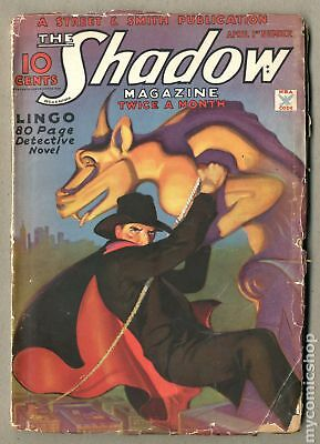 Shadow (1931 Street & Smith) #Volume 13, Issue 3 GD 2.0