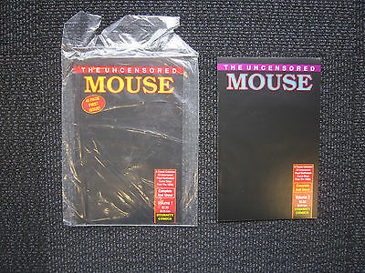 The Uncensored Mouse lot - 1989 - racist mouse strips