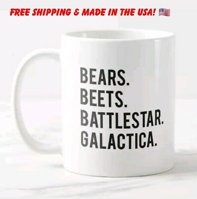 the office coffee mug. Bears Beets Battlestar Galactica The Office Coffee Mug Funny Mom Dad Gift H