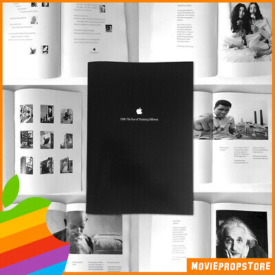 Apple Poster Book: 1998 The Year of Thinking Different - Steve Jobs - REPRINT