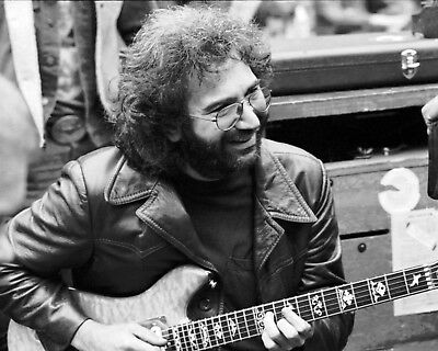 Jerry Garcia - Grateful Dead, 8x10 B&W Photo