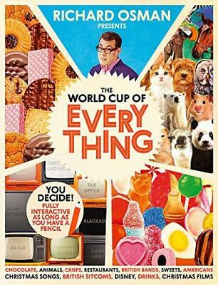 The World Cup Of Everything by Richard Osman New Hardcover Book NEW