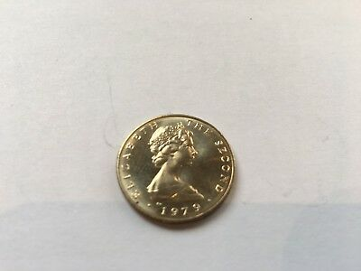 1979 Isle Of Man One Pound Coin